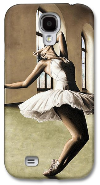 Tutus Paintings Galaxy S4 Cases - Halcyon Ballerina Galaxy S4 Case by Richard Young