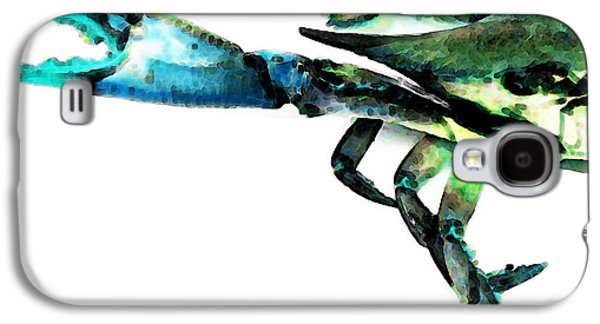Buy Galaxy S4 Cases - Half Crab - The Left Side Galaxy S4 Case by Sharon Cummings