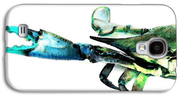 Half Crab - The Left Side Galaxy S4 Case by Sharon Cummings
