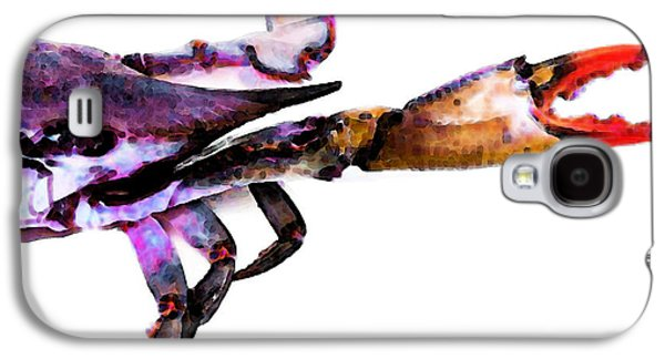 Half Crab - The Right Side Galaxy S4 Case by Sharon Cummings