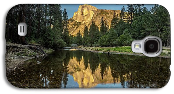 Half Dome From  The Merced Galaxy S4 Case by Peter Tellone