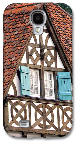 Ancient Galaxy S4 Cases - Half-Timbered House Galaxy S4 Case by Jean Hall