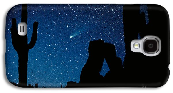 Science Collection - Galaxy S4 Cases - Halleys Comet Galaxy S4 Case by Frank Zullo