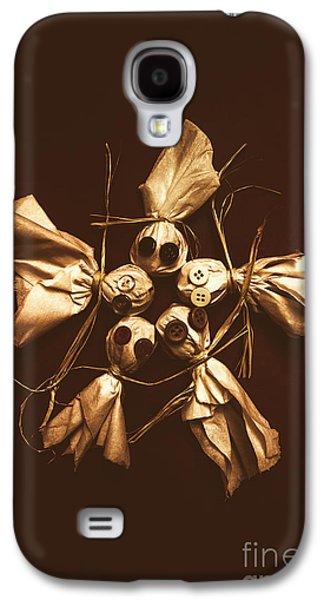 Halloween Horror Dolls On Dark Background Galaxy S4 Case by Jorgo Photography - Wall Art Gallery