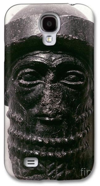Statue Portrait Galaxy S4 Cases - HAMMURABI (d. 1750 B.C.) Galaxy S4 Case by Granger