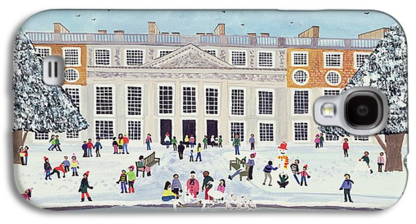 Hamptons Galaxy S4 Cases - Hampton Court Palace   Fountain Gardens Galaxy S4 Case by Judy Joel