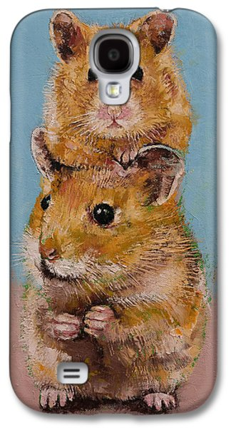 Hamsters Galaxy S4 Case by Michael Creese