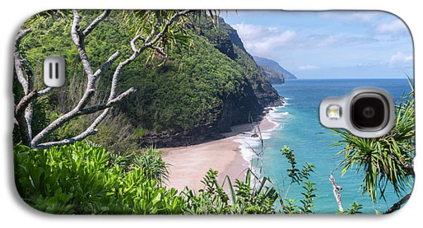 Hanakapiai Beach Galaxy S4 Case by Brian Harig