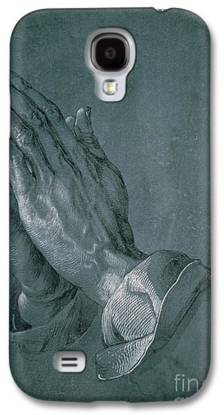 Praying Hands Galaxy S4 Cases - Hands of an Apostle Galaxy S4 Case by Albrecht Durer