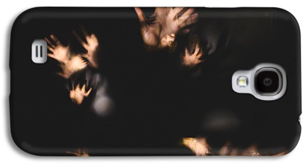 Creepy Galaxy S4 Cases - Hands Poltergeist Galaxy S4 Case by Christopher-Lee Santos