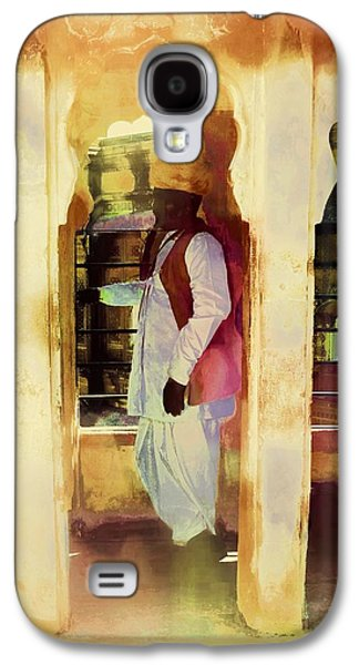 Abstract Digital Art Galaxy S4 Cases - Hanging Out Travel Exotic Arches Sun Fort India Rajasthan 2f Galaxy S4 Case by Sue Jacobi