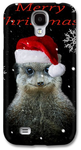 Happy Christmas Galaxy S4 Case by Paul Neville
