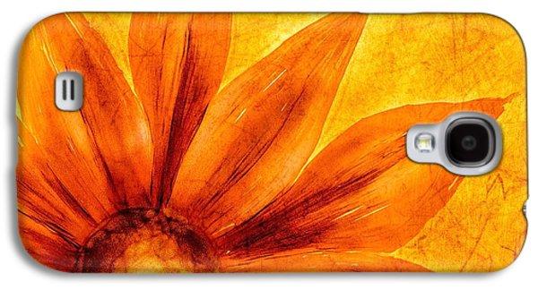 Happy Petals Galaxy S4 Case by Brenda Bryant