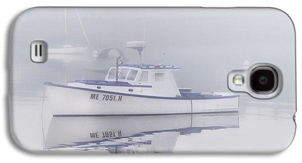 Mid-coast Maine Galaxy S4 Cases - Harbor Mist   Galaxy S4 Case by Thomas Schoeller