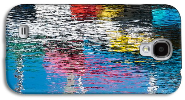 Boat Galaxy S4 Cases - Harbor Reflections I Galaxy S4 Case by Duane Miller