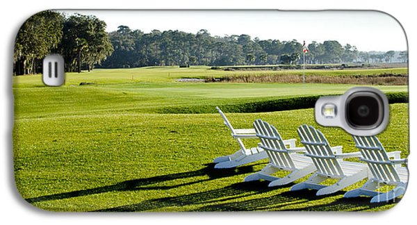 Chair Galaxy S4 Cases - Harbor Town at Seapines 18th Hole Galaxy S4 Case by Dustin K Ryan