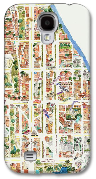Harlem From 110-155th Streets Galaxy S4 Case by Afinelyne