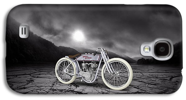 Mountain Valley Galaxy S4 Cases - Harley Davidson 11K 1920 Mountains Galaxy S4 Case by Aged Pixel