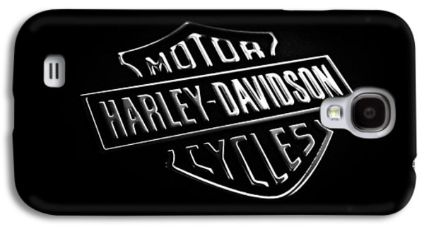 Harley Davidson Galaxy S4 Cases - Harley-Davidson Motorcycles Phone Case Galaxy S4 Case by Mark Rogan