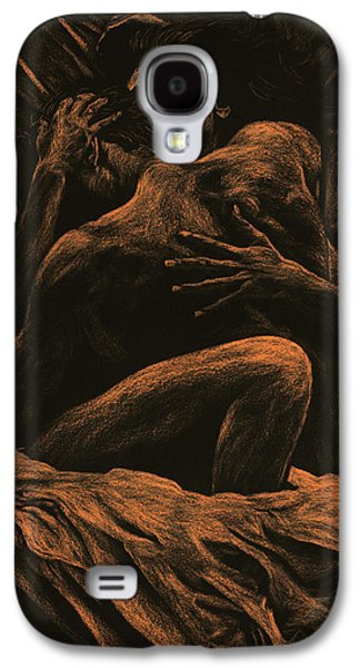 Nudes Pastels Galaxy S4 Cases - Harmony Galaxy S4 Case by Richard Young
