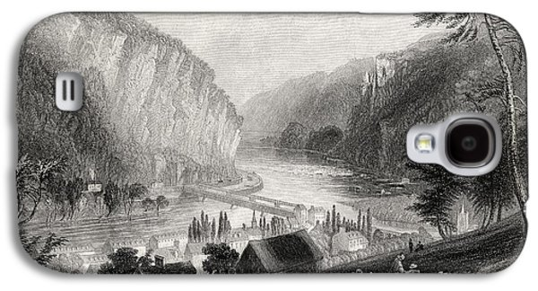 Slavery Galaxy S4 Cases - Harpers Ferry From The Potomac Side Galaxy S4 Case by Ken Welsh