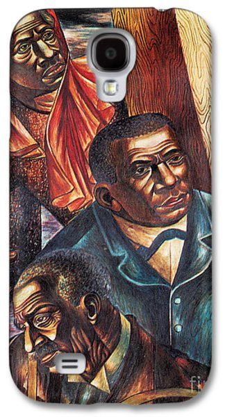 Harriet Tubman, Booker Washington Galaxy S4 Case by Photo Researchers
