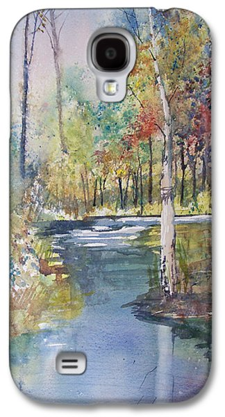 Stream Galaxy S4 Cases - Hartman Creek Birches Galaxy S4 Case by Ryan Radke