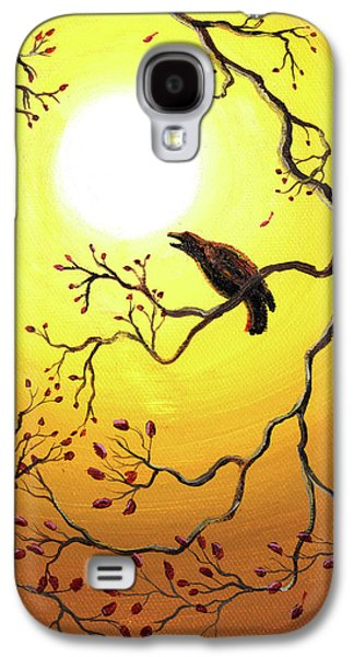 Harvest Crows Galaxy S4 Case by Laura Iverson