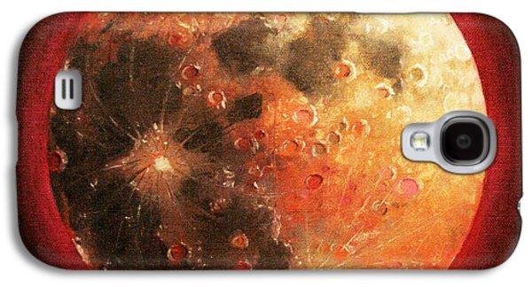 Harvest Full Moon Galaxy S4 Case by Shelley Irish