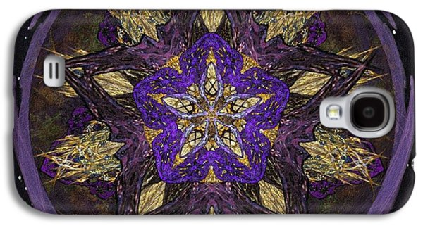 Abstracted Galaxy S4 Cases - Harvest Moon Galaxy S4 Case by China Mayhew