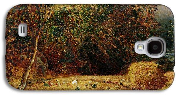 Harvest Moon Galaxy S4 Case by Samuel Palmer