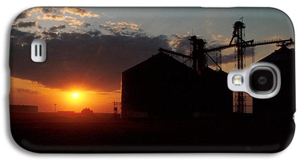 Harvest Art Galaxy S4 Cases - Harvest Sunset Galaxy S4 Case by Jerry McElroy