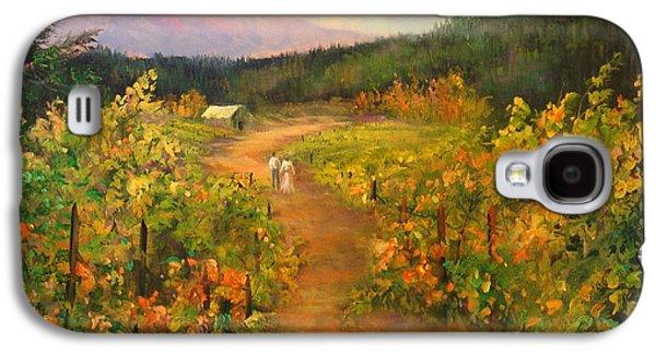Harvest Walk Galaxy S4 Case by Sally Seago