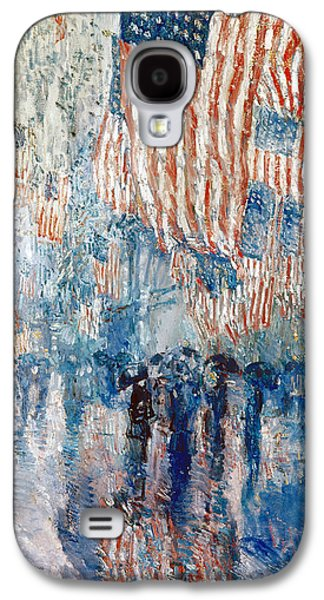 Hassam Avenue In The Rain Galaxy S4 Case by Granger