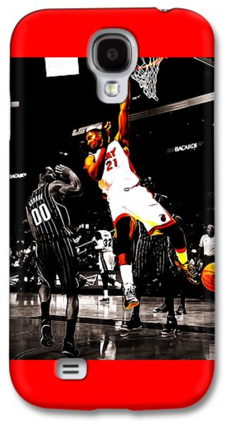 Hassan Whiteside Galaxy S4 Case by Brian Reaves