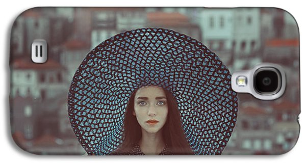 Hat And Houses Galaxy S4 Case by Anka Zhuravleva