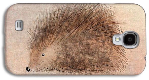 Hattie Hedgehog  Galaxy S4 Case by John Edwards