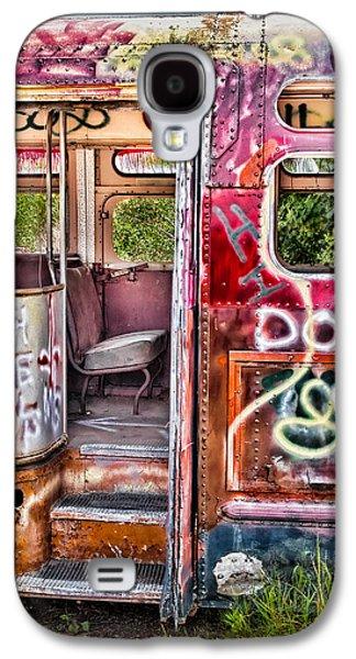 Susan Candelario Galaxy S4 Cases - Haunted Graffiti Art Bus Galaxy S4 Case by Susan Candelario