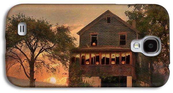 """""""haunted House"""" Galaxy S4 Cases - Haunted House Galaxy S4 Case by Lori Deiter"""