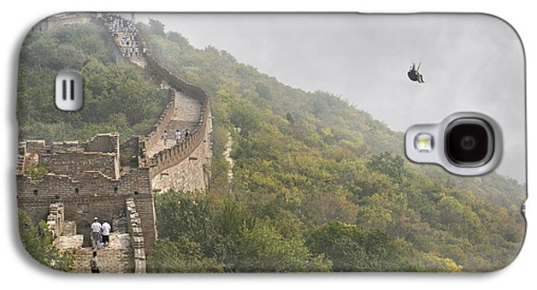 Timing Galaxy S4 Cases - Haunting Great Wall Galaxy S4 Case by Betsy C  Knapp