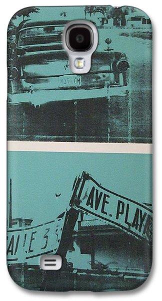 Screen Print Galaxy S4 Cases - Havana Five Galaxy S4 Case by David Studwell