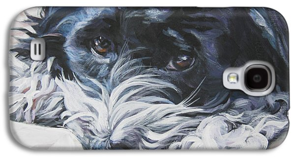 Havanese Black And White Galaxy S4 Case by Lee Ann Shepard