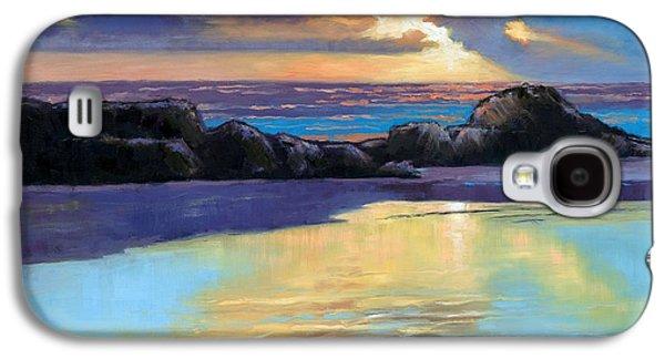 Havik Beach Sunset Galaxy S4 Case by Janet King