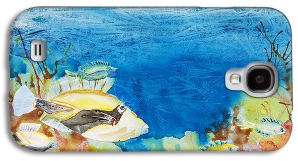 Hawaiian Triggerfish Galaxy S4 Case by Tanya L Haynes - Printscapes