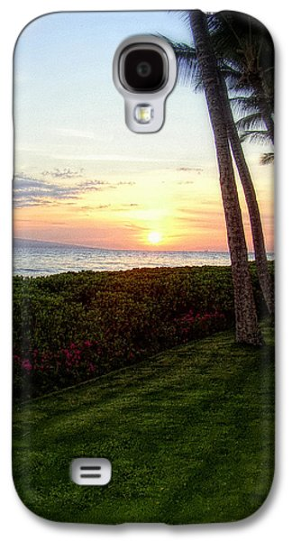 Dreamscape Galaxy S4 Cases - Hawaiian Tropical Sunset Galaxy S4 Case by Glenn McCarthy