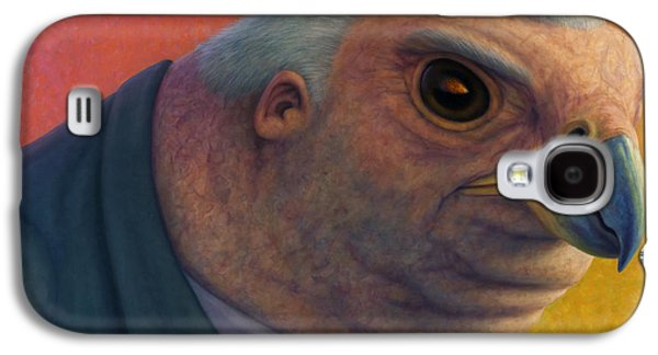 Creepy Galaxy S4 Cases - Hawkish Galaxy S4 Case by James W Johnson