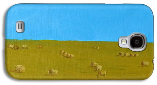 Hay Harvest Galaxy S4 Case by Tom Amiss