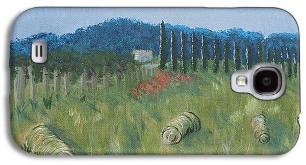 Haystacks Galaxy S4 Case by Maura Satchell