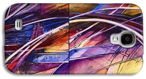 Abstract Movement Galaxy S4 Cases - Haze Galaxy S4 Case by Michael Lang