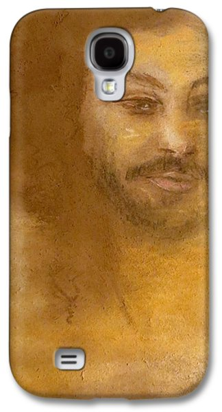 Religious Pastels Galaxy S4 Cases - He Knows Galaxy S4 Case by C Pichura